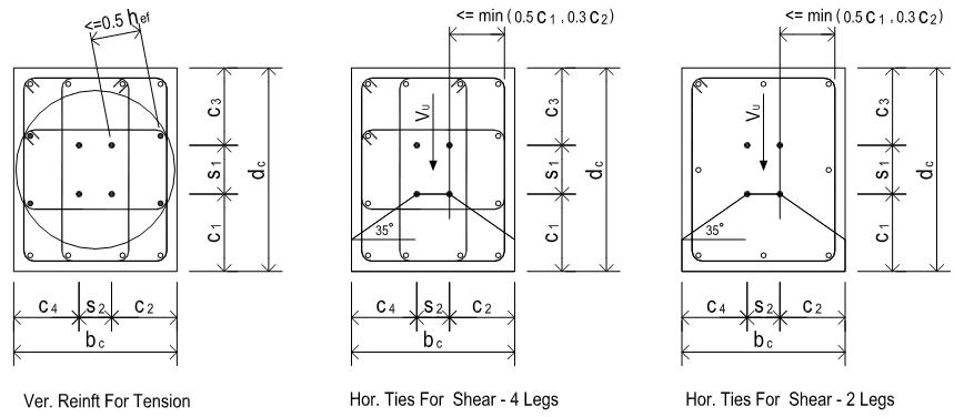 Mc Base Plate And Anchor Bolt Design Aci 318 11 Using