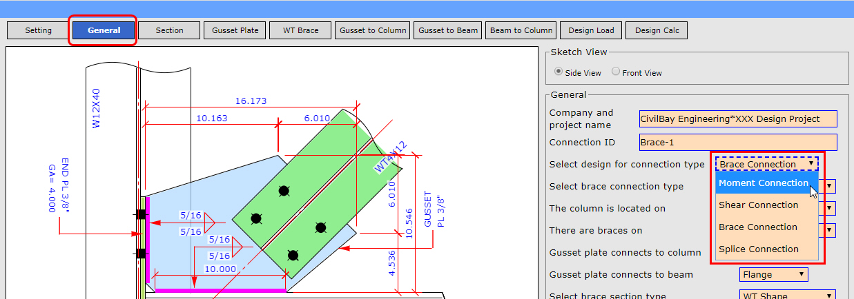 AISC Steel Connection Design Software CISC S16 Steel Connection